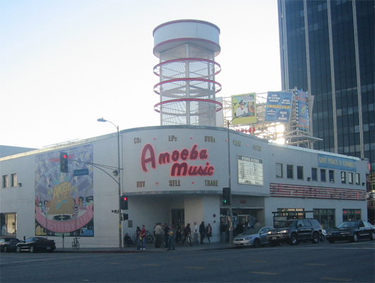Amoeba Music, Los Angeles, California, USA