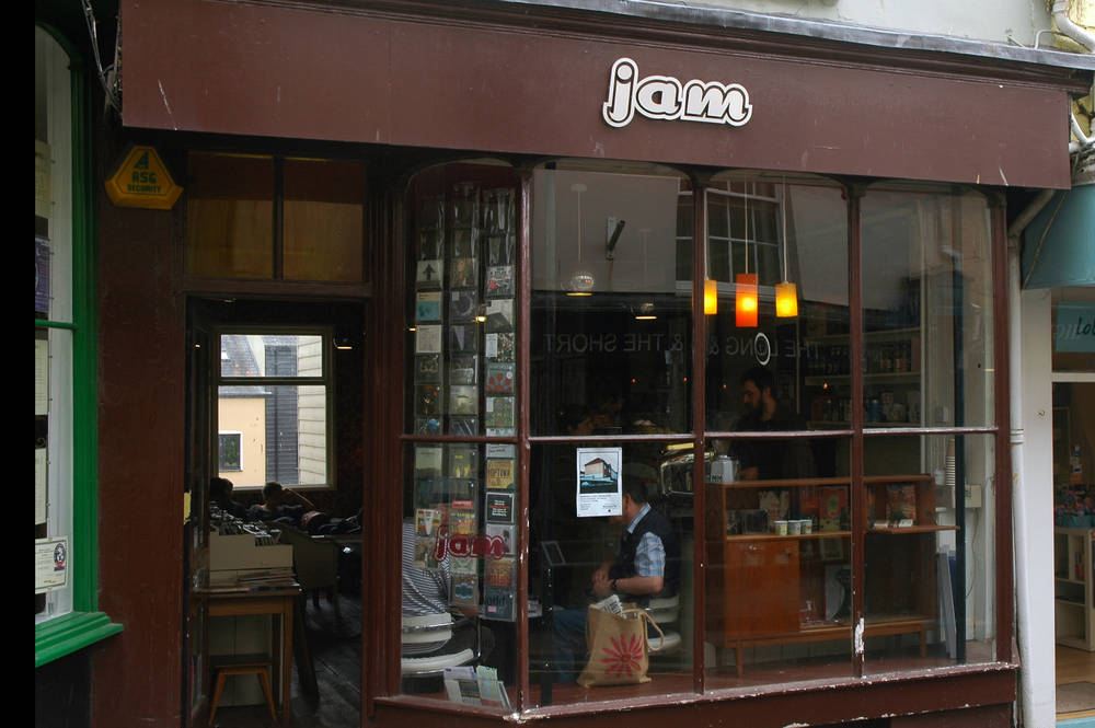 Jam Records, Falmouth, Cornwall, UK
