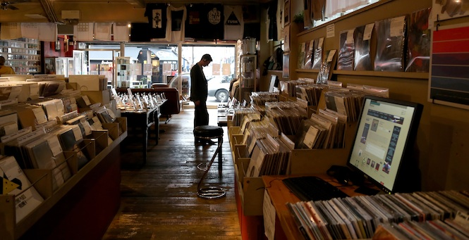 Phonica Records, London, UK