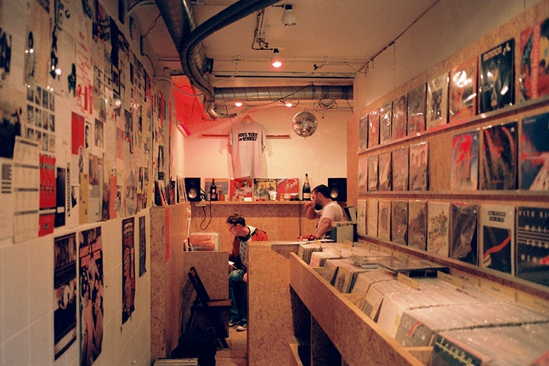 Red Light Records, Amsterdam, Netherlands