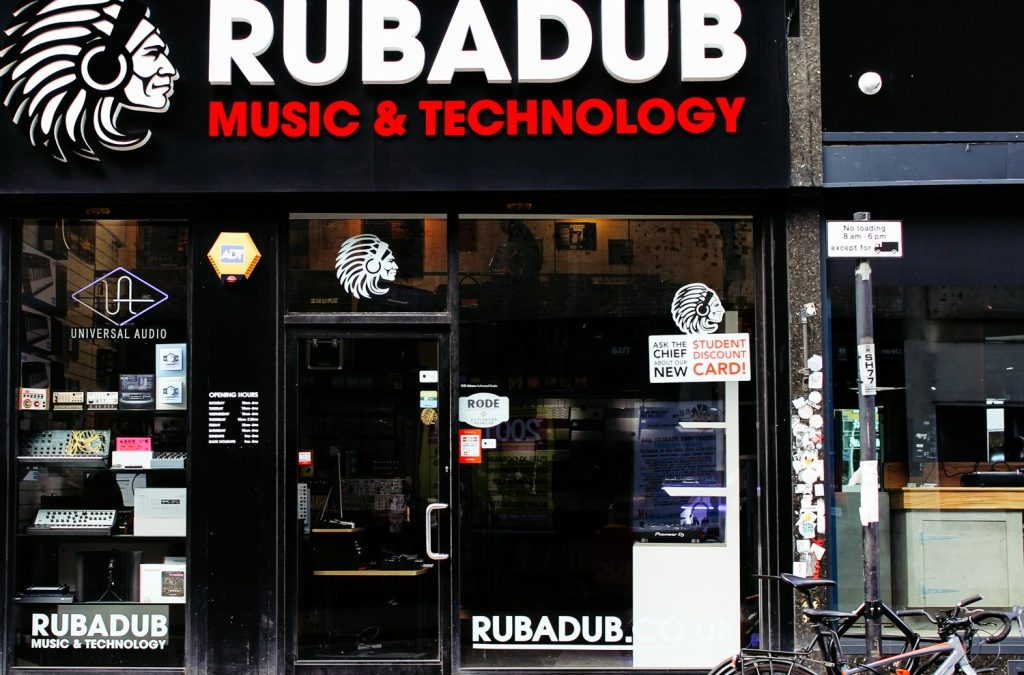 Rubadub Records, Glasgow, Scotland, UK
