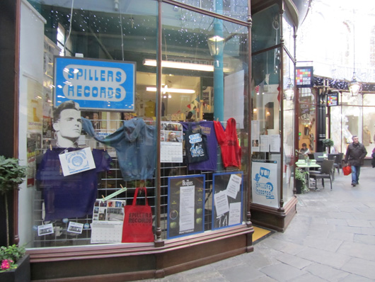 Spillers Records, Cardiff, Wales, UK