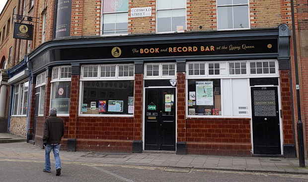 The Book And Record Bar, West Norwood, London, UK