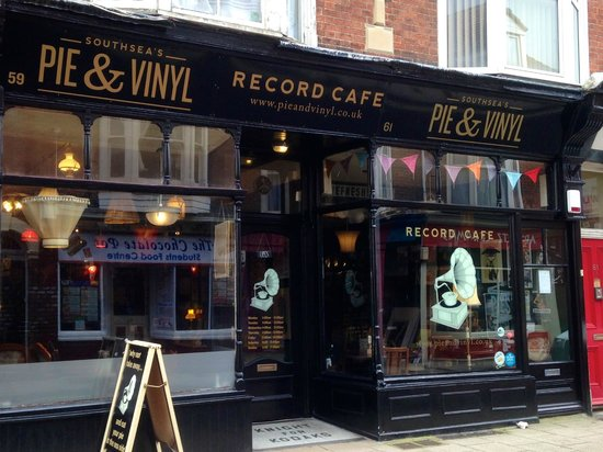 Pie & Vinyl, Southsea, Portsmouth, UK