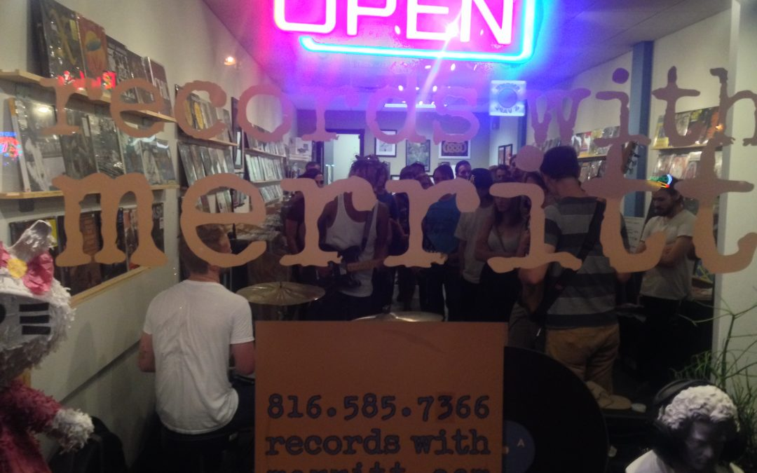 Records With Merritt, Kansas City, Missouri, US