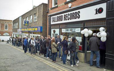 Tallbird Records, Chesterfield, Derbyshire, UK