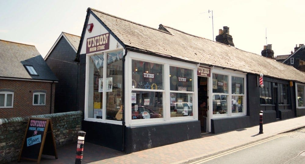 Union Music Store, Lewes, East Sussex, UK