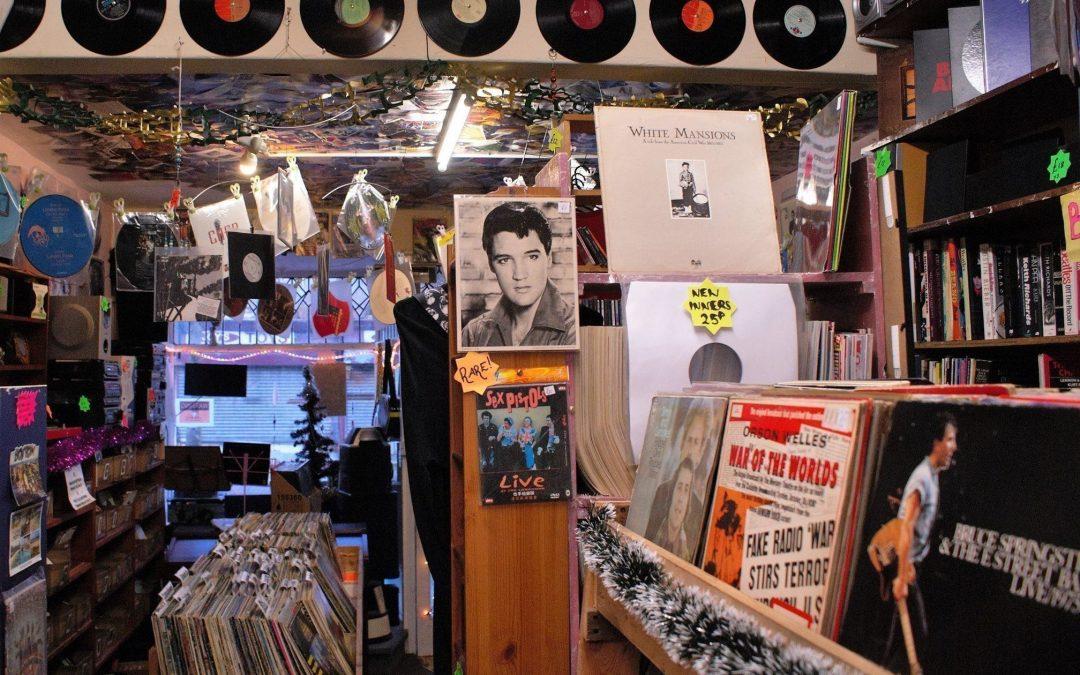 Vintage Vinyl Morecambe, Lancashire, UK