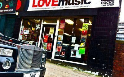 Love Music, Glasgow, UK