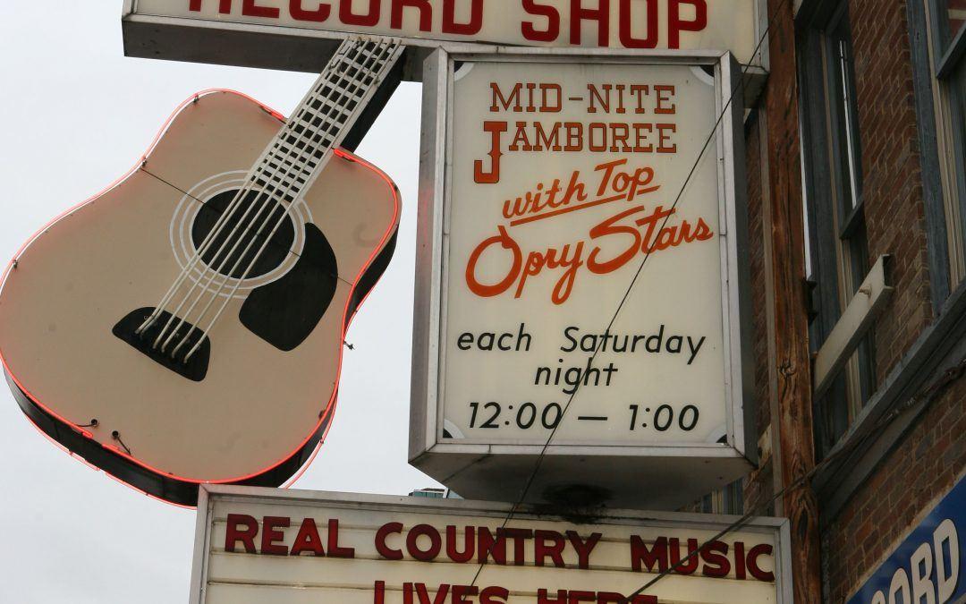 Ernest Tubb, Broadway, Nashville, US