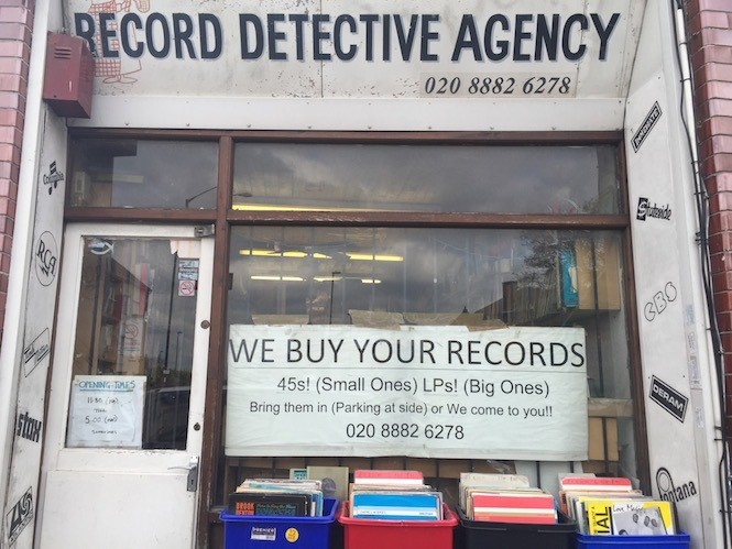 The Record Detective Agency, Palmers Green, London, UK
